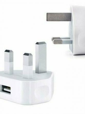 USB adapter Charge 3 Pin UK Main Plug