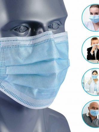 3PLY Non Surgical Disposable Face Mask