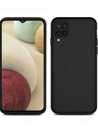 Liquid Silicone Shockproof Cover – Black